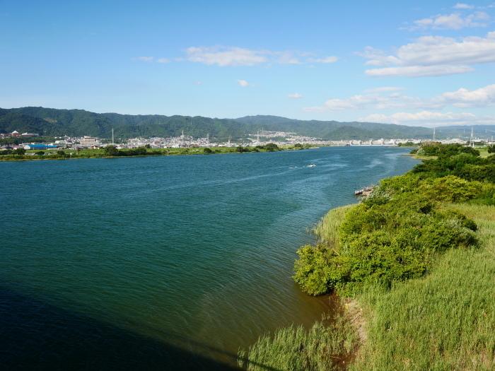 川のある風景 紀の川  2019-10-06 00:00  _b0093754_21550954.jpg