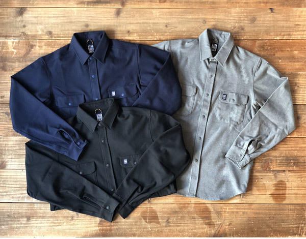 【DELIVERY】 STANDARD CALIFORNIA - Thermolite Stretch Work Shirt_a0076701_16074971.jpg