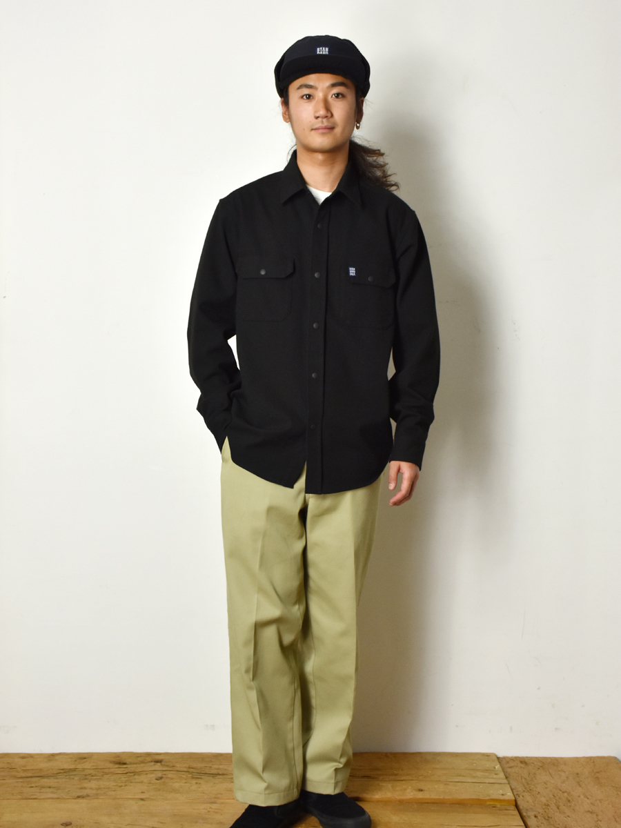 【DELIVERY】 STANDARD CALIFORNIA - Thermolite Stretch Work Shirt_a0076701_16102476.jpg