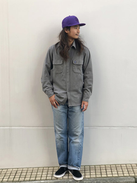 【DELIVERY】 STANDARD CALIFORNIA - Thermolite Stretch Work Shirt_a0076701_16103475.jpg