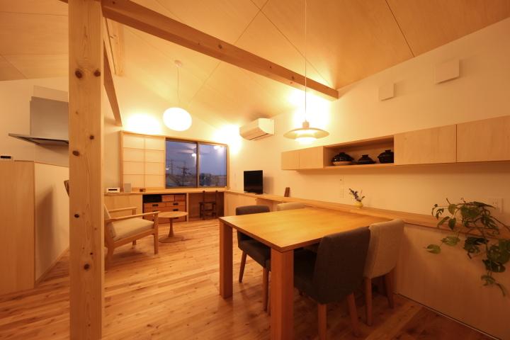 「薬師山の家」竣工写真_b0179213_18142535.jpg