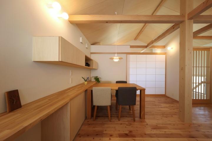 「薬師山の家」竣工写真_b0179213_18151764.jpg