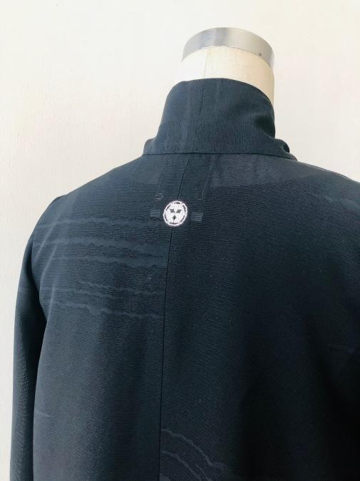 着物着物リメイク・絽のお着物からリボンタイボリュームブラウス_d0127925_13285041.jpg