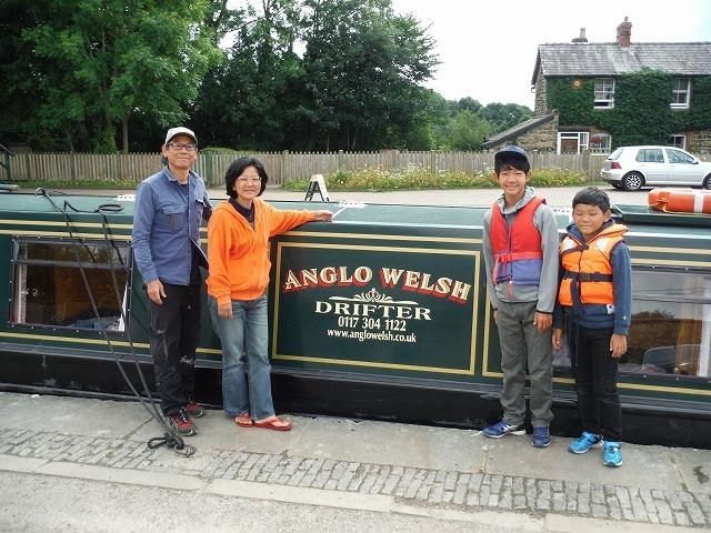 家族でグランドユニオン運河へ 4日目 最終日_c0027849_09400156.jpg