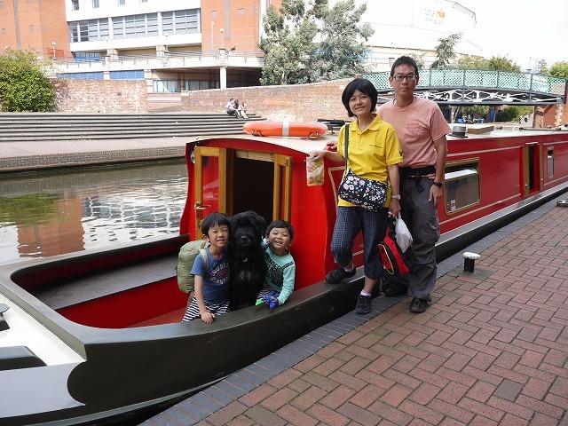 家族でグランドユニオン運河へ 4日目 最終日_c0027849_09400186.jpg