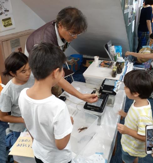 9月8日(日)のげ青縁日で多摩川水族館やりました!_c0120851_10121066.jpg