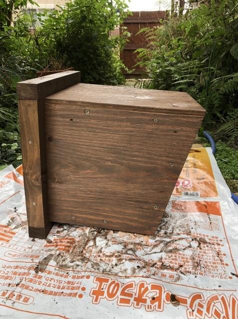 DIY「小屋もどき」の煙突を製作中!_a0243064_14364558.jpg