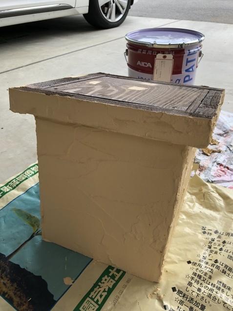 DIY「小屋もどき」の煙突を製作中!_a0243064_14372182.jpg
