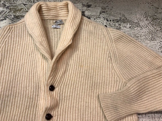 10月5日(土)大阪店、冬物スーペリア入荷!!#3 Fisherman Knit編! Shawl Cardigan & Zip Cardigan!!_c0078587_1419364.jpg