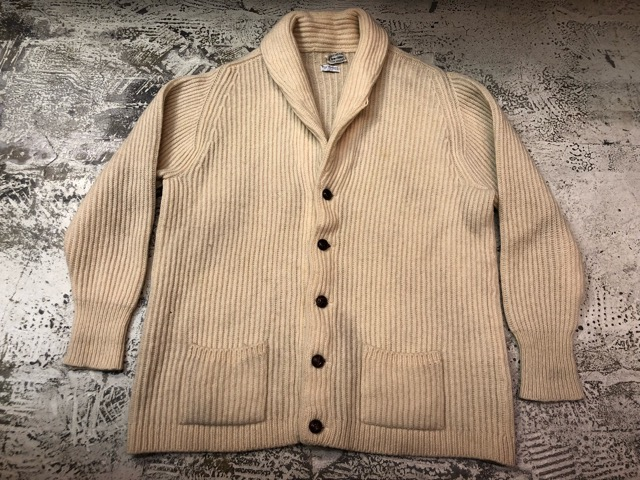 10月5日(土)大阪店、冬物スーペリア入荷!!#3 Fisherman Knit編! Shawl Cardigan & Zip Cardigan!!_c0078587_1419412.jpg