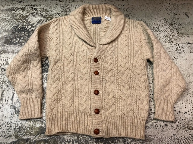 10月5日(土)大阪店、冬物スーペリア入荷!!#3 Fisherman Knit編! Shawl Cardigan & Zip Cardigan!!_c0078587_14203055.jpg