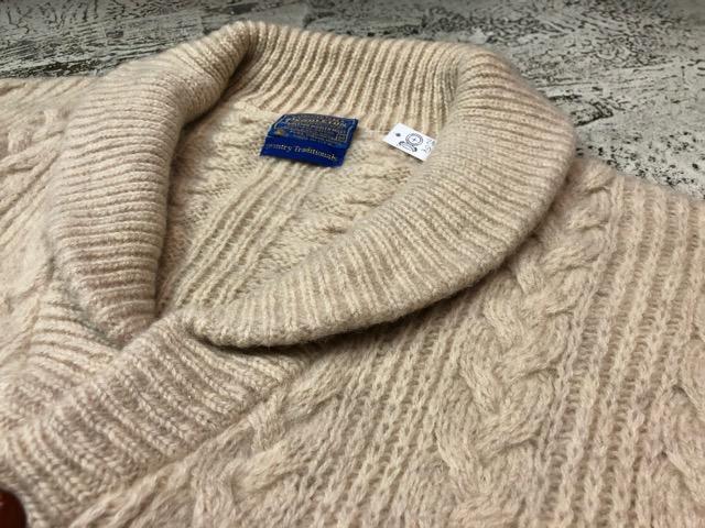 10月5日(土)大阪店、冬物スーペリア入荷!!#3 Fisherman Knit編! Shawl Cardigan & Zip Cardigan!!_c0078587_14213087.jpg