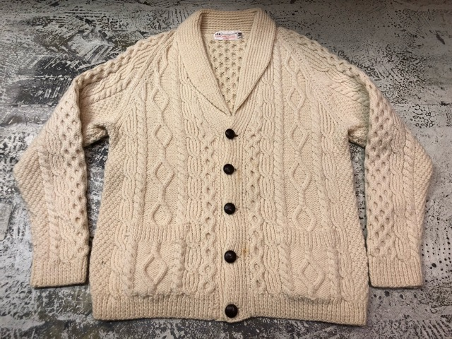 10月5日(土)大阪店、冬物スーペリア入荷!!#3 Fisherman Knit編! Shawl Cardigan & Zip Cardigan!!_c0078587_14214873.jpg
