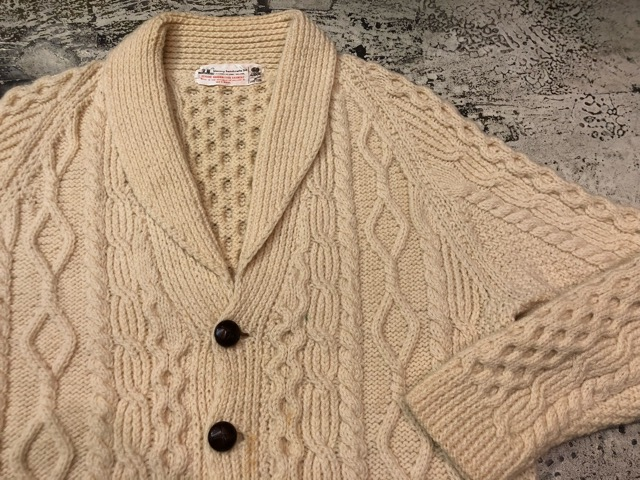10月5日(土)大阪店、冬物スーペリア入荷!!#3 Fisherman Knit編! Shawl Cardigan & Zip Cardigan!!_c0078587_14222147.jpg