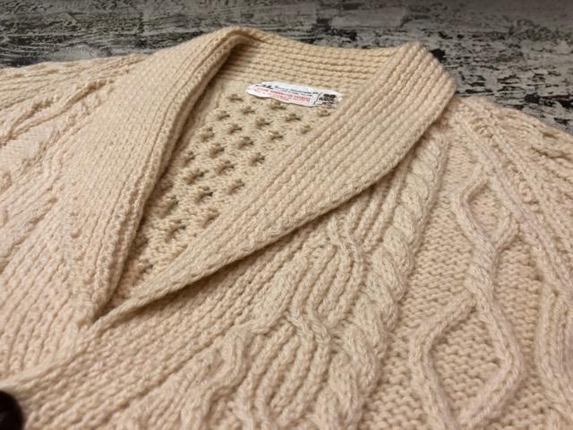 10月5日(土)大阪店、冬物スーペリア入荷!!#3 Fisherman Knit編! Shawl Cardigan & Zip Cardigan!!_c0078587_14225170.jpg