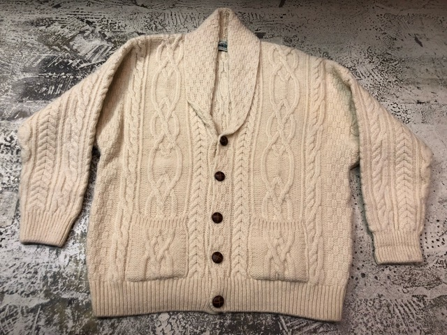 10月5日(土)大阪店、冬物スーペリア入荷!!#3 Fisherman Knit編! Shawl Cardigan & Zip Cardigan!!_c0078587_1423127.jpg