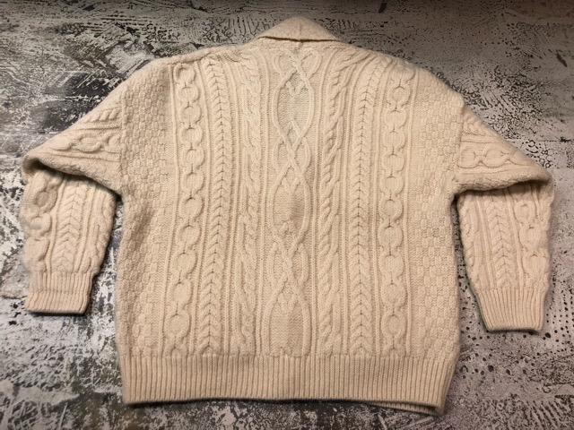 10月5日(土)大阪店、冬物スーペリア入荷!!#3 Fisherman Knit編! Shawl Cardigan & Zip Cardigan!!_c0078587_14232222.jpg