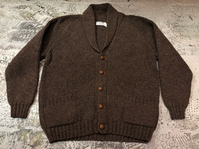 10月5日(土)大阪店、冬物スーペリア入荷!!#3 Fisherman Knit編! Shawl Cardigan & Zip Cardigan!!_c0078587_14242053.jpg