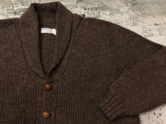 10月5日(土)大阪店、冬物スーペリア入荷!!#3 Fisherman Knit編! Shawl Cardigan & Zip Cardigan!!_c0078587_1424495.jpg