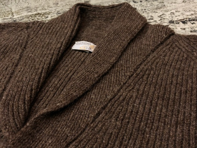 10月5日(土)大阪店、冬物スーペリア入荷!!#3 Fisherman Knit編! Shawl Cardigan & Zip Cardigan!!_c0078587_14251598.jpg