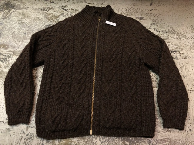 10月5日(土)大阪店、冬物スーペリア入荷!!#3 Fisherman Knit編! Shawl Cardigan & Zip Cardigan!!_c0078587_14254349.jpg