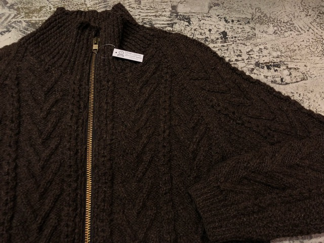 10月5日(土)大阪店、冬物スーペリア入荷!!#3 Fisherman Knit編! Shawl Cardigan & Zip Cardigan!!_c0078587_1426875.jpg