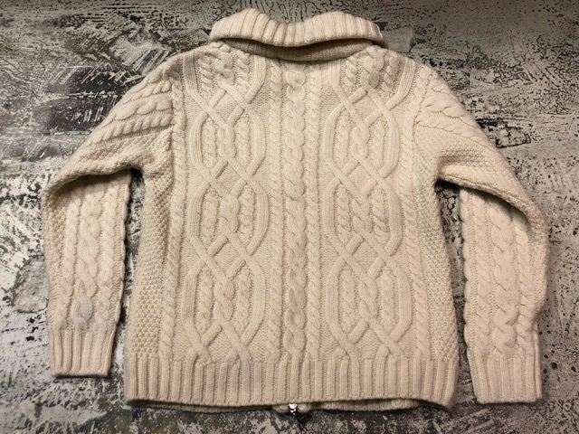 10月5日(土)大阪店、冬物スーペリア入荷!!#3 Fisherman Knit編! Shawl Cardigan & Zip Cardigan!!_c0078587_1427138.jpg