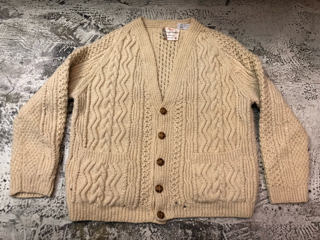 10月5日(土)大阪店、冬物スーペリア入荷!!#3 Fisherman Knit編! Shawl Cardigan & Zip Cardigan!!_c0078587_14284427.jpg