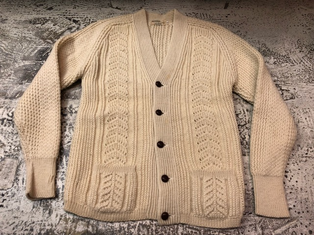 10月5日(土)大阪店、冬物スーペリア入荷!!#3 Fisherman Knit編! Shawl Cardigan & Zip Cardigan!!_c0078587_1430297.jpg
