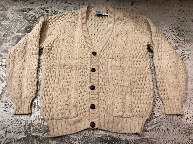 10月5日(土)大阪店、冬物スーペリア入荷!!#3 Fisherman Knit編! Shawl Cardigan & Zip Cardigan!!_c0078587_143125.jpg