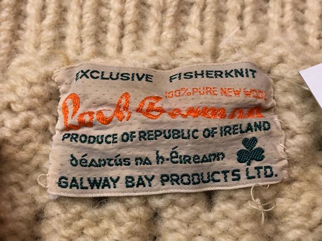 10月5日(土)大阪店、冬物スーペリア入荷!!#3 Fisherman Knit編! Shawl Cardigan & Zip Cardigan!!_c0078587_14335769.jpg