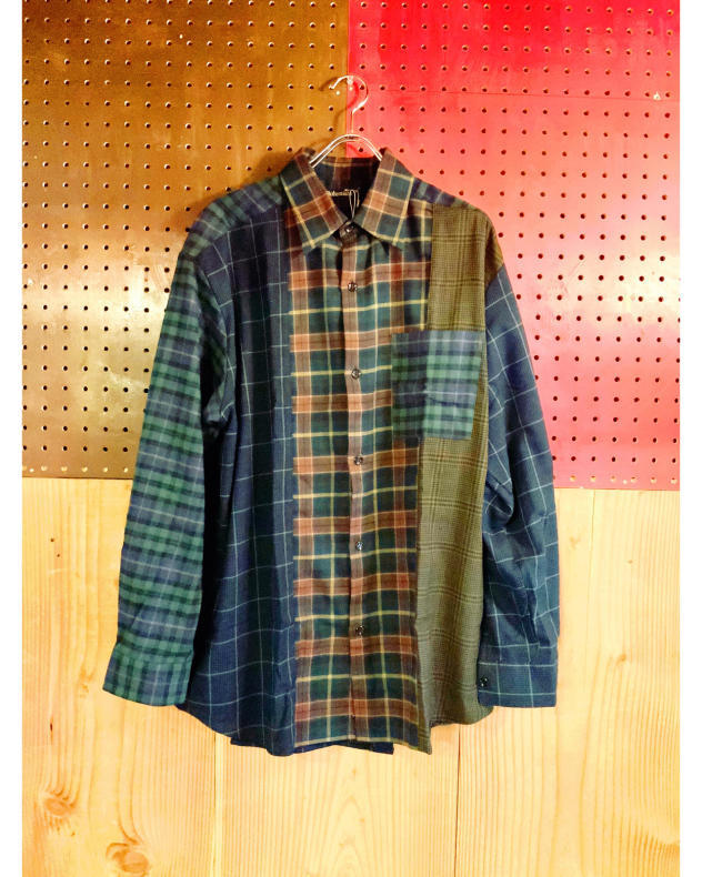【BOHEMIANS】MIX CHECK LS SHIRT_d0000298_16245291.jpg