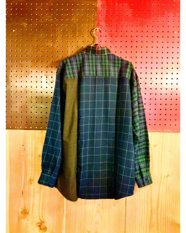 【BOHEMIANS】MIX CHECK LS SHIRT_d0000298_16245407.jpg