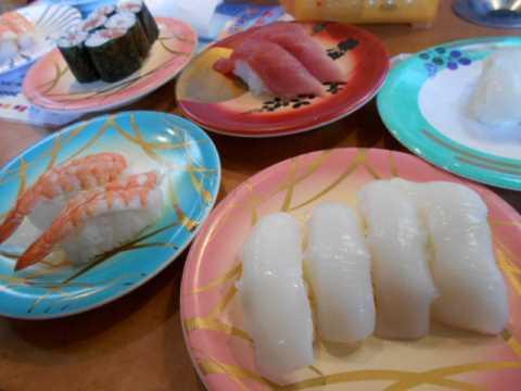 職人が握る回転寿司&月餅_f0019498_19063509.jpg