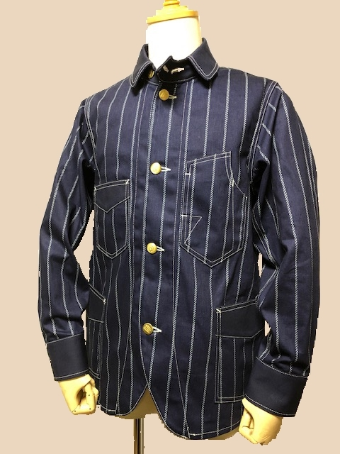 Dapper\'s LOT1344Classical Railroader Coverall Jacket|_c0144020_13105298.jpg