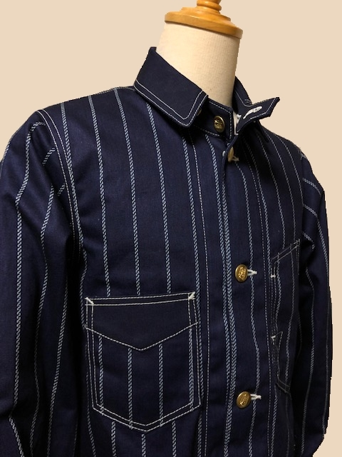 Dapper\'s LOT1344Classical Railroader Coverall Jacket|_c0144020_13110502.jpg