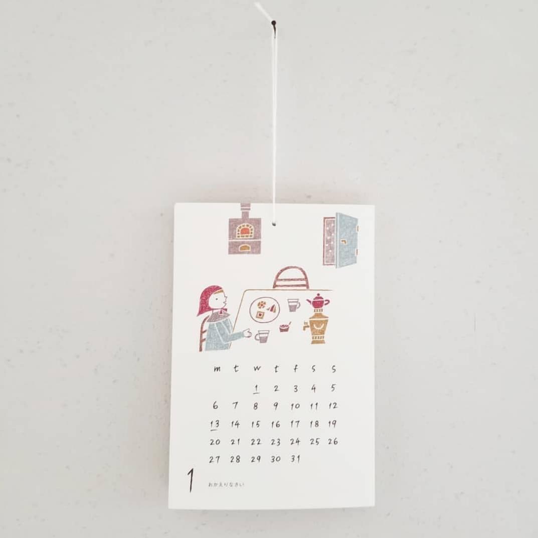 ノラヤのカレンダーとポストカード_f0120026_17480469.jpg