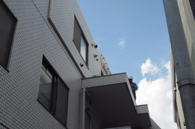 目黒区「コーポA」台風災害復旧工事。_a0214329_15585748.jpg