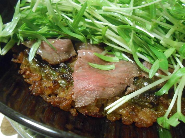 松茸(アメリカ産)や里芋でビール。_a0095931_18550714.jpg
