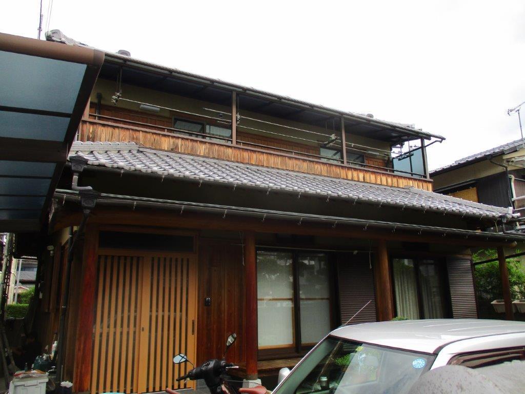 松山市 S様邸 外壁塗装工事_a0167735_11133342.jpg