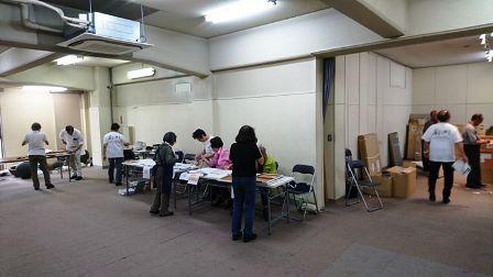 作業日誌(「第60回日本版画会展」作品搬入作業)_c0251346_16103525.jpg