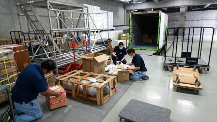 作業日誌(「第73回二紀会展」彫刻部搬入作業)_c0251346_16141286.jpg