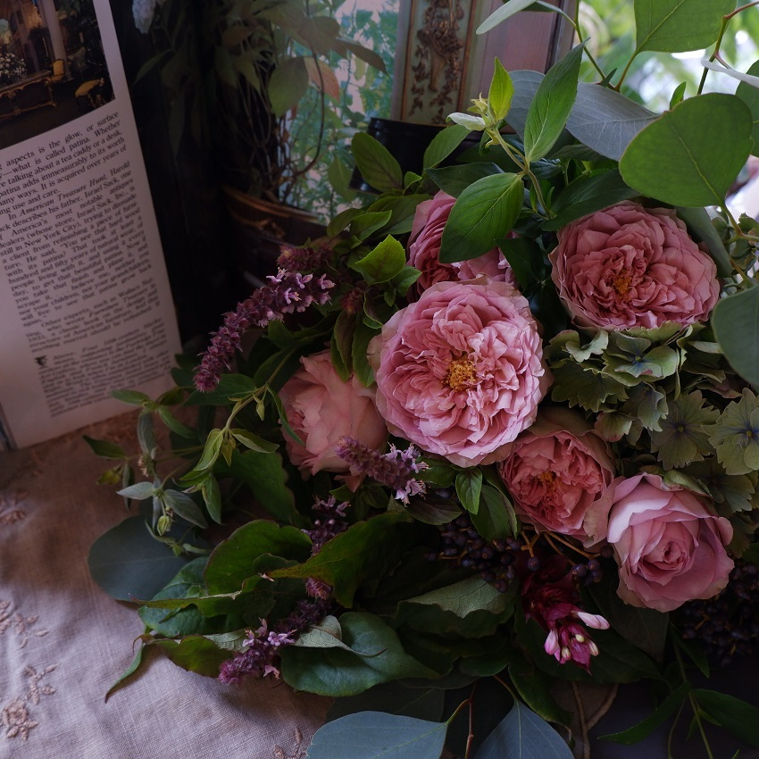 オークリーフ(バラソルファの花束)_f0049672_12151636.jpg