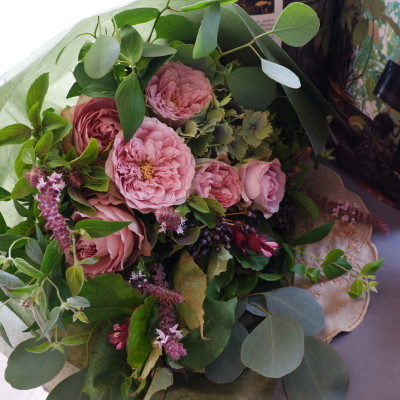 オークリーフ(バラソルファの花束)_f0049672_12151935.jpg