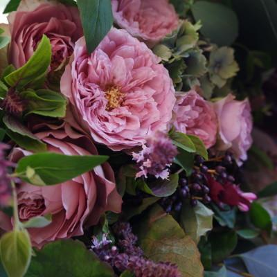オークリーフ(バラソルファの花束)_f0049672_12152040.jpg