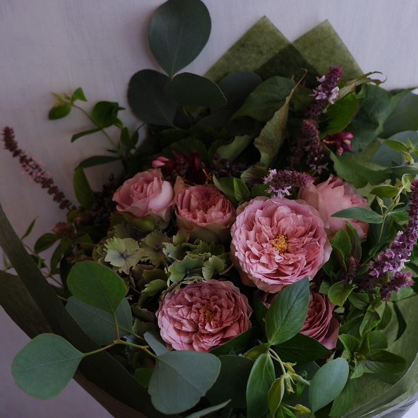 オークリーフ(バラソルファの花束)_f0049672_12152426.jpg