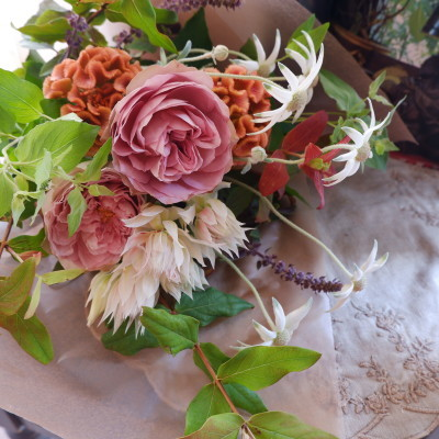 オークリーフ(バラソルファの花束)_f0049672_12153972.jpg