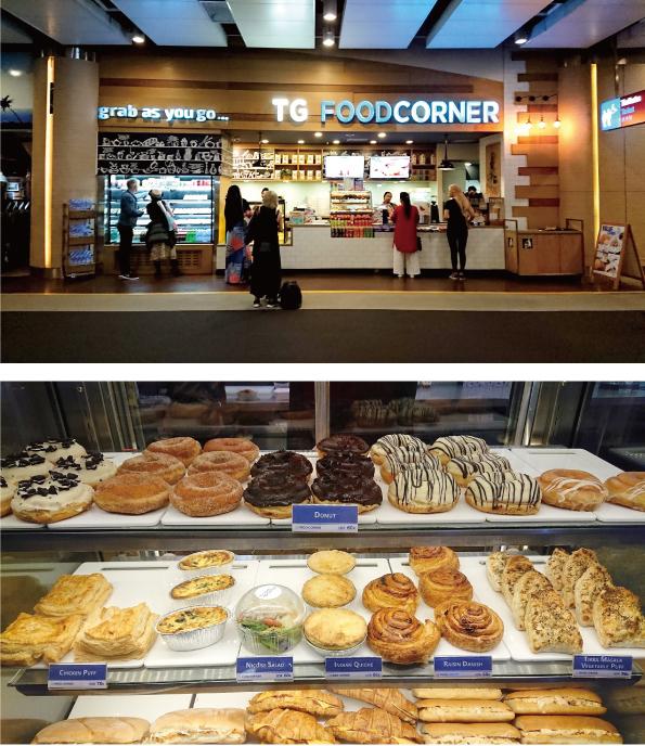 【バリ島/デンパサール空港】TG FOOD CORNER「DONUT」【ひんやりずっしりしっとり】_d0272182_17212219.jpg
