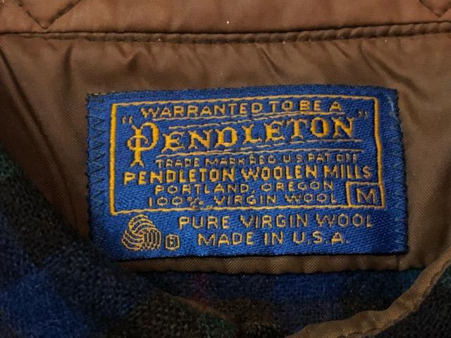 10月5日(土)大阪店、冬物スーペリア入荷!!#7 Pendleton編! TweedJKT & HuntingJKT ,WoolPlaidShirt!!_c0078587_16184842.jpg