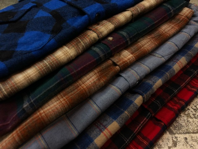 10月5日(土)大阪店、冬物スーペリア入荷!!#7 Pendleton編! TweedJKT & HuntingJKT ,WoolPlaidShirt!!_c0078587_16215096.jpg